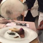 Au fumoir… Le veau caramélisé, champignons en gratin de foie gras  (1)