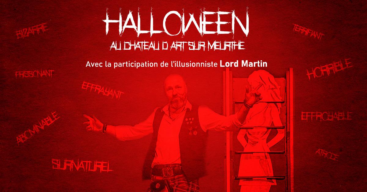 halloween illusionniste
